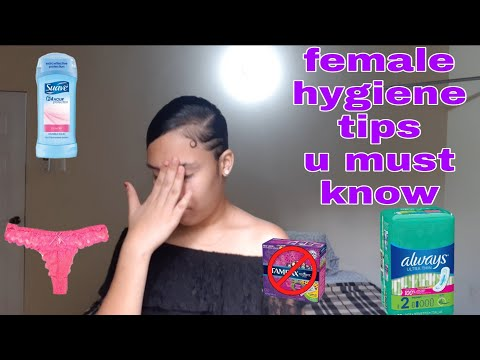Female hygiene tips you MUST know💯//liyah's world//🇹🇹