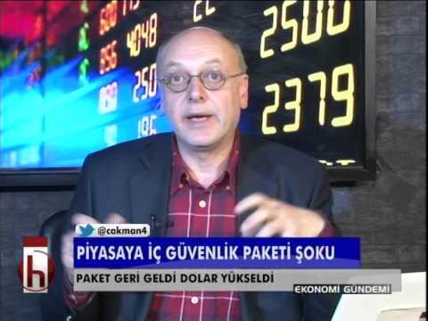Dr. Cüneyt Akman'la Ekonomi: Piyasaya iç güvenlik paketi şoku