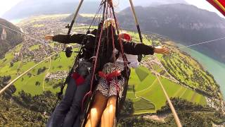 Took an awesome hang gliding trip with Birdman Bernie while in Interlaken, Switzerland last September. Was an awesome ...