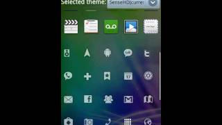 Sense 4 HD GO Launcher EX APEX YouTube video