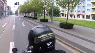 Nordhausen Germany  city pictures gallery : MIKE650 in Nordhausen Germany with Kawasaki Zephyr 750