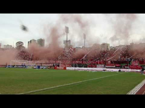 Recibimiento Caracas FC vs Dvo. Táchira [Final del Fútbol Venezolano] - Los Demonios Rojos - Caracas