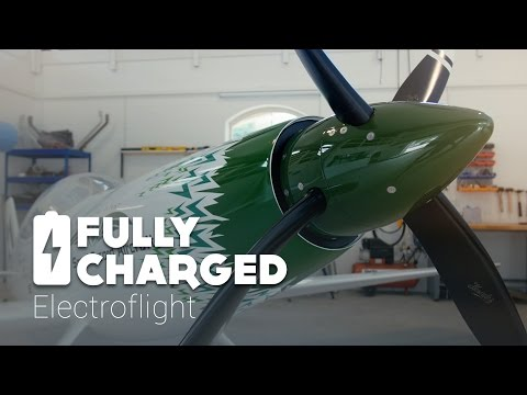 A fully electric 300 mph racing plane