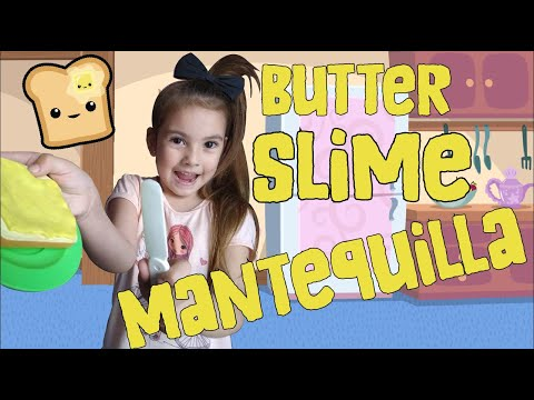 Como Hacer SLIME MANTEQUILLA (sin Borax) Slime Butter