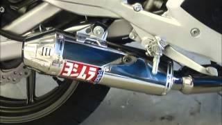 9. 2007 Kawasaki Ninja 650R with Yoshimura TRC Slip-On
