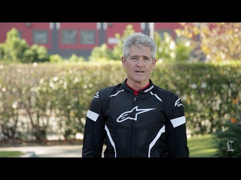 Motorcyclist hot weather riding gear