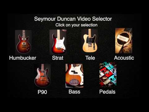 Comparison Audio | Compare Pickup Tones | Seymour Duncan