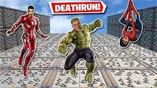 Play as the AVENGERS in this *New* Deathrun! (Fortnite Creative)