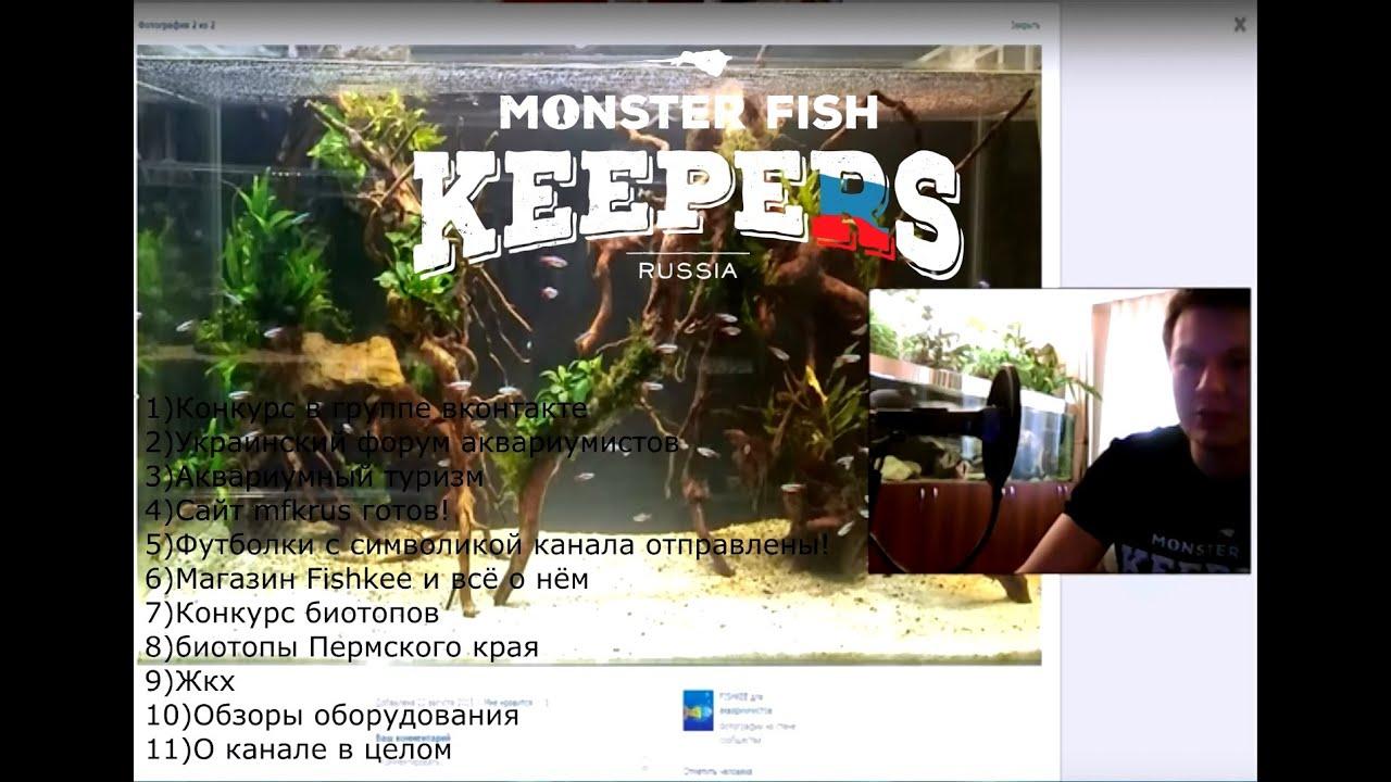 Смотреть онлайн: Подкаст 27.08.2015(Конкурс,Украинский форум,Аквариумный туризм,сайт mfkrus,fishkee и т.д.)