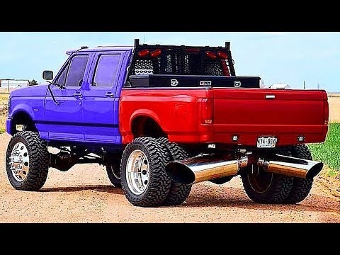Biggest And Powerful Trucks (loud Exhaust) | Rolling Coal