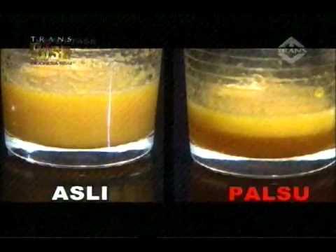 bagaimana cara membedakan madu asli dan madu palsu cara memutihkan