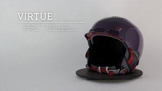 K2 Virtue Audio Helmet - Women's 2014