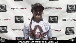 2020 Kelly Ann Mckeown Second Base and Catcher Softball Sills Video