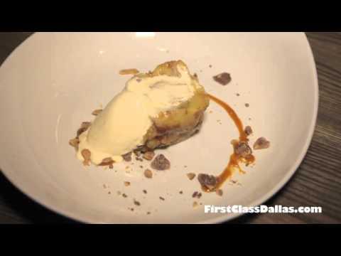 A Stock & Barrel Signature Dessert | Bread Pudding