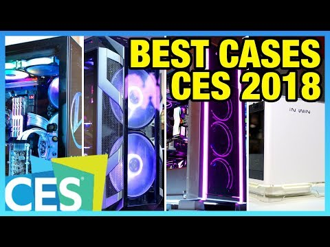 Best Gaming PC Cases of 2018 (So Far)   CES Case Round-Up (видео)