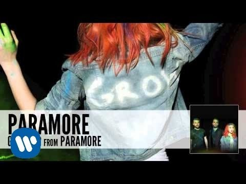 Paramore - Grow Up lyrics