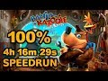 Banjo kazooie: Nuts amp Bolts 100 Speedrun In 4:16:29