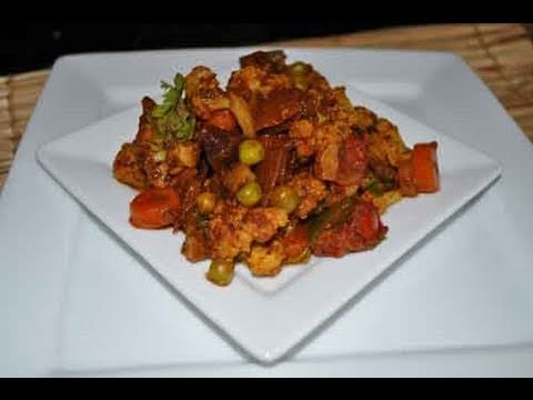 Vegetable Jalfrezi - Indian Stirfry