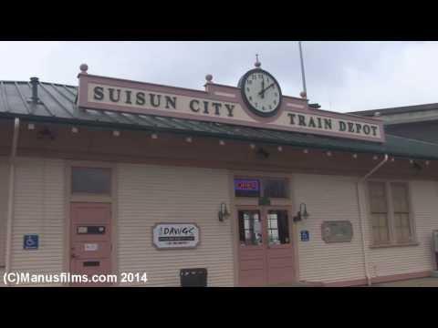 Suisun City(Fairfield), CA Train Depot