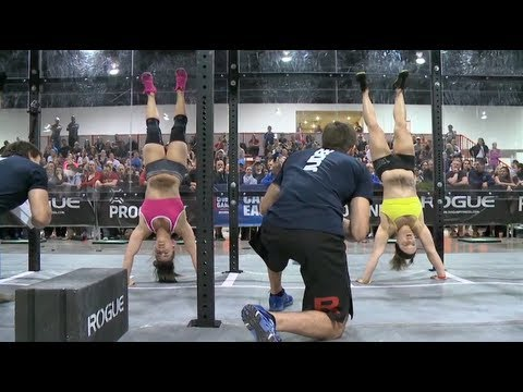 CrossFit – Camille's First World Record of the Day