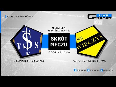 Skrót meczu: Skawinka Skawina - Wieczysta Kraków 25.10.2020