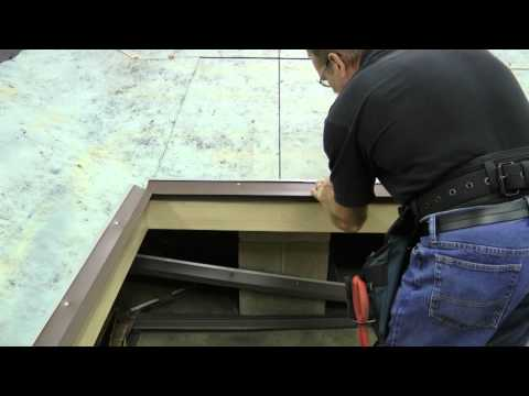 youtube how to build a shed roof