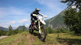 10. First Ride on New Husqvarna TE 250 2016 2 Stroke