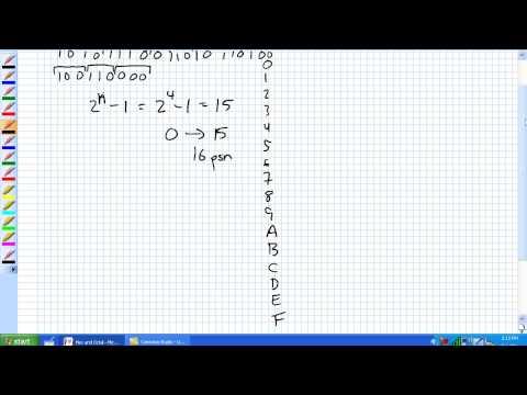 Hex und Oktalzahlen