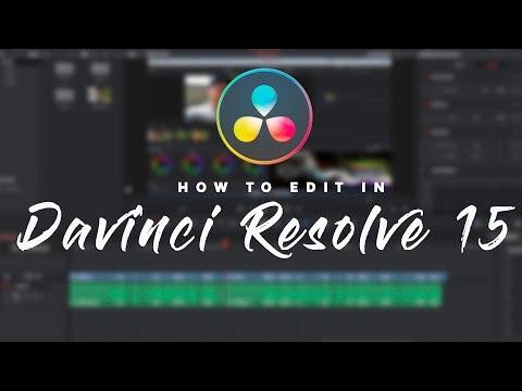 Editing in Davinci Resolve 15 Start to Finish Tutorial | ThatModernDude