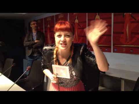 Noemi saluta VareseNews, Sanremo 2014