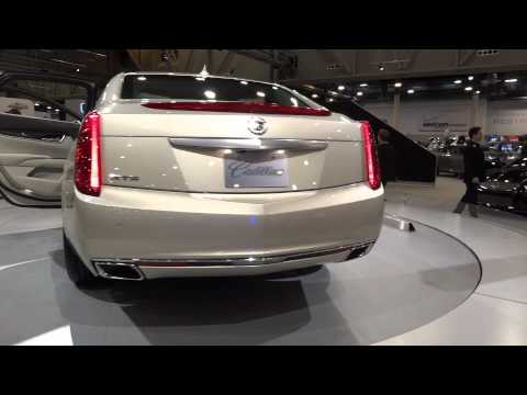 2012 Houston Auto Show: 2013 Cadillac XTS.