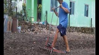 Dụng cụ xới đất hiệu quả cho làm vườn và ruộng