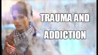 What is the difference with outcomes regarding agencies simultaneously addressing trauma while in substance abuse treatment, opposed to agencies only treatin...