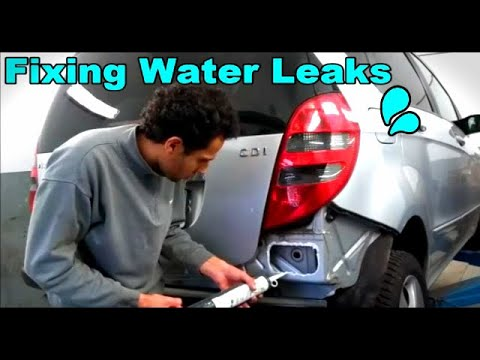 How to Find and Fix Water Leaks in a Car