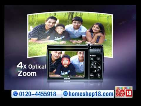 HomeShop18: A Slim & Stylish Digital Camera - Nikon Coolpix S2500
