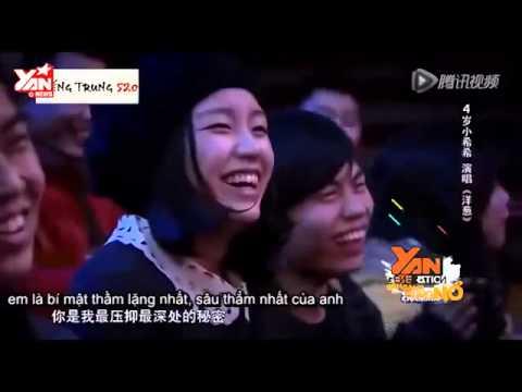 Cười té ghế với bé gái thi GotTalent China