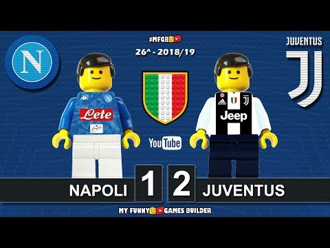 Napoli Vs Juventus 1-2 • Serie A 2019 • Sintesi 03/03/19 • All Goal Highlights Lego Football