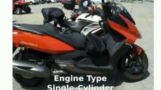 9. 2013 KYMCO Downtown 300i -  Top Speed Details