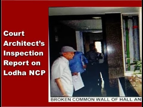Report Of Court-appointed Architect - What It Says & Where It Is Silent