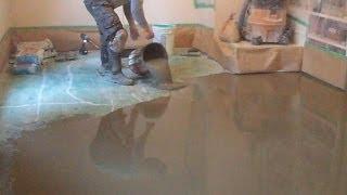 Concrete Subfloor Preparation for the Vinyl Floor Installation How-To DIY  Mryoucandoityourself