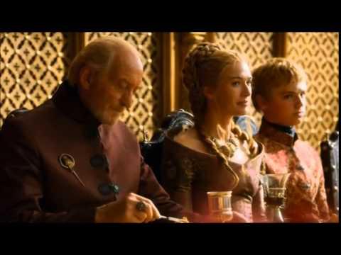 Game of Thrones - King Joffrey's Death (Poisoned at his wedding) + BONUS Scene [The Purple Wedding]