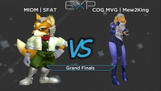 EXP 2015 – COG MVG – Mew2king (Marth, Sheik) vs MIOM – SFAT (Fox) – Melee Singles Grand Finals