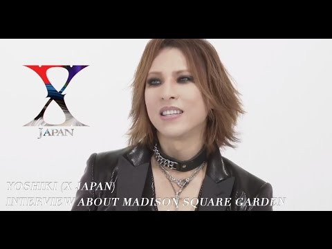 japan - X Japan at Madison Square Garden (10/11/14) TICKETS ON SALE NOW! http://bit.ly/xjapanMSGny Click Here To SUBSCRIBE http://bit.ly/YoshikiYT http://www.xjapanmusic.com http://www.yoshiki.net/...