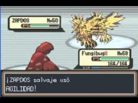 Pokémon Rojo fuego guía de recorrido parte 24- Las aves Articuno y Zapdos