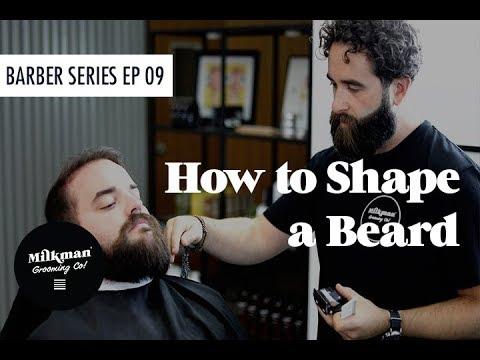 Beard styles - TOTAL BEARD TRANSFORMATION (Barber Beard & Shave Series Ep 09)