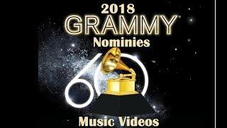 2018 Grammy Nomination Predictions | Music Videos