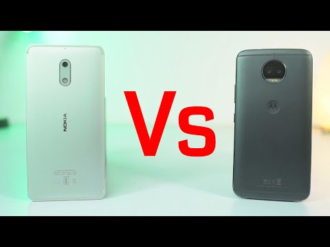 Moto G5s Plus vs Nokia 6 Speed Test