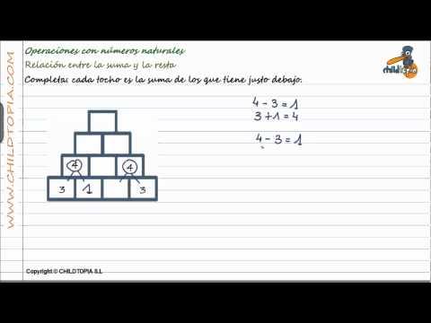 Vídeos Educativos.,Vídeos:Operaciones números naturales 3