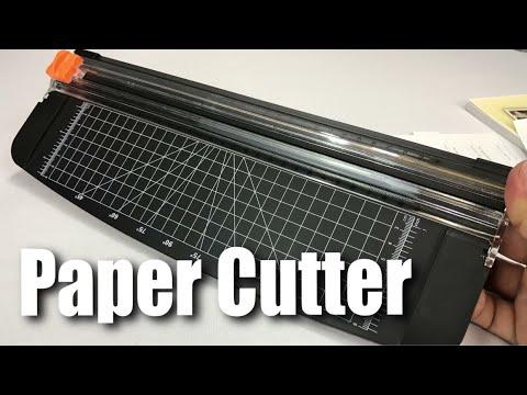 Jielisi 12-inch Titanium Scrapbooking Paper Trimmer Cutter Review
