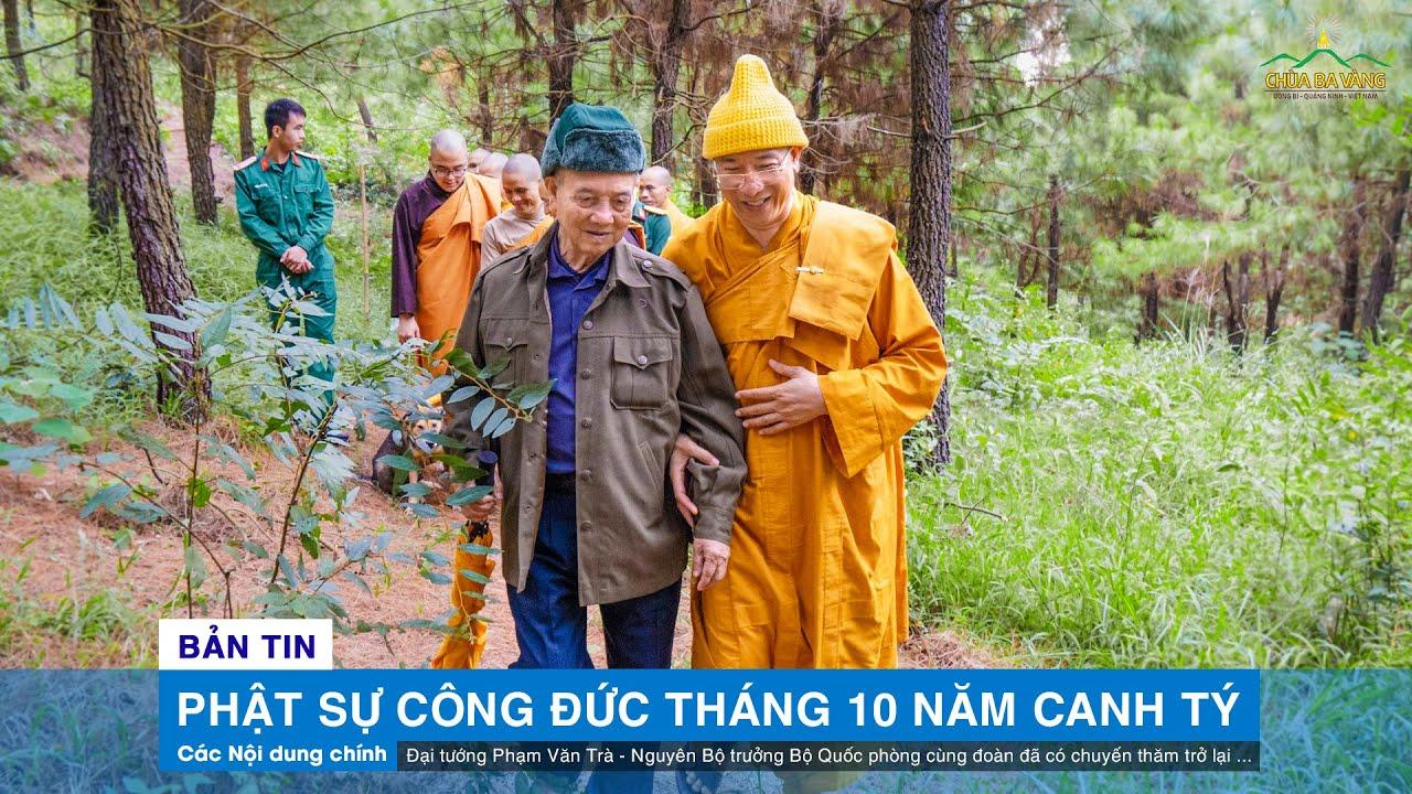 Phật sự Công đức tháng 10 năm Canh Tý của Sư Phụ Thích Trúc Thái Minh